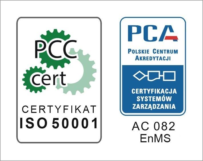 certyfikat ISO 50001