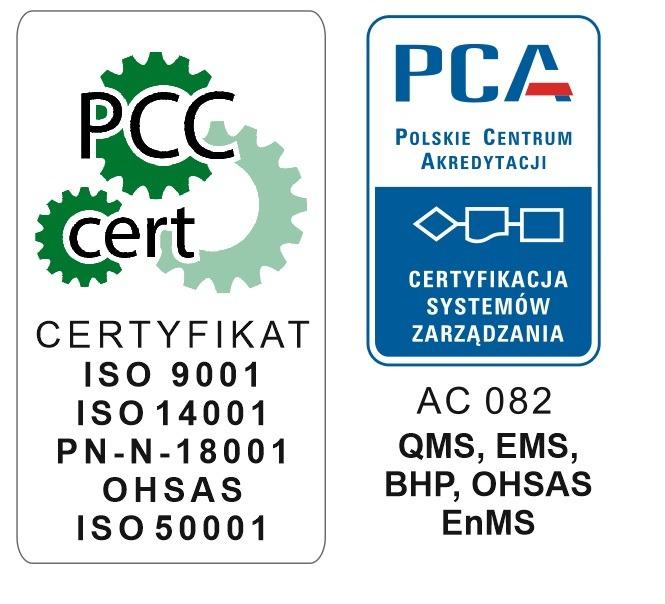 akredytacja ISO 9001