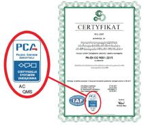 PCC-Cert - akredytacja krajowej jednostki akredytującej